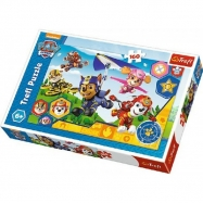Puzzle Tlapková Patrola / Paw Patrol 41x27,5cm 160 dielikov v krabici 29x19x4cm