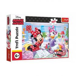 Puzzle Disney Minnie / Deň s najlepšími priateľmi 160 dielikov