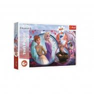 Puzzle Ledové království II/Frozen II 160 dílků 41 x 27,5 cm