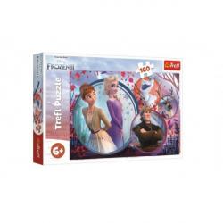Puzzle Ice Kingdom II / Frozen II 160 elementów 41 x 27,5 cm