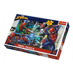 Spiderman ratuje kolaż Disneya 41 x 27,5 cm 160 sztuk