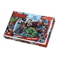 Puzzle Avengers 100 elementów 41 x 2 7,5 cm