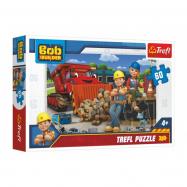 Puzzle  Bob a Wendy/Bořek Stavitel 33x22cm 60 dílků