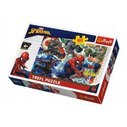 Puzzle Statečný Spiderman Disney 33 x 22 cm 60 dílků