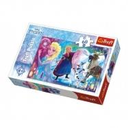 Puzzle Frozen/Ledové Království Překvapení pro Elsu 33x22cm 60 dílků