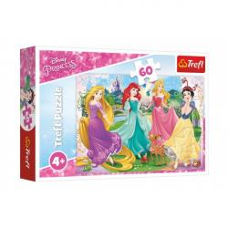 Puzzle Princezny Disney 33 x 22 cm 60 dílků