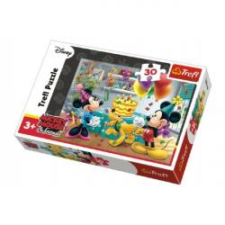 Mickey i Minnie świętują urodziny Disneya 27x20cm 30 sztuk w pudełku 21x14x4cm