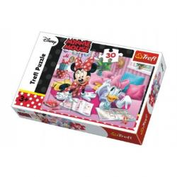 Puzzle Minnie and Daisy Disney 27 x 20 cm 30 sztuk