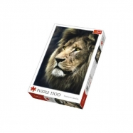 Puzzle Lev 1500 dílků 58x85cm v krabici 26x40x6cm