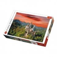 Puzzle Zámek Neuschwanstein, Německo 2000 dílků 96x68cm v krabici 40x27x6cm