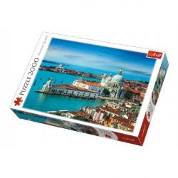 Puzzle Benátky, Taliansko 2000 dielikov 96x68cm v krabici 40x27x6cm