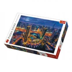Puzzle Svetla v Dubaji 2000 dielikov 96x68cm v krabici 40x27x6cm