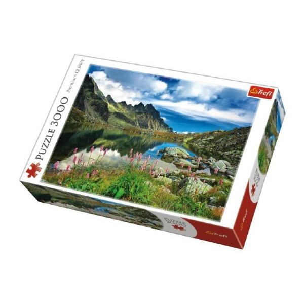 Puzzle Tatry Slovensko 3000 dílků 116x85cm v krabici 40x27x9cm