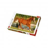 Puzzle Kůň 500 dílků 48 x 34 cm