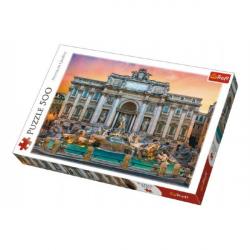 Puzzle Fontanna di Trevi, Rím 500 dielikov 48x34cm v krabici 40x27x4,5cm