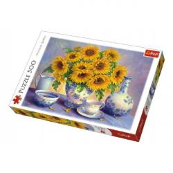 Puzzle Slnečnica maľované 500 dielikov 48x34cm v krabici 40x27x4,5cm
