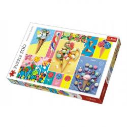 Puzzle Obľúbené sladkosti 500 dielikov 48x34cm v krabici 40x27x4,5cm
