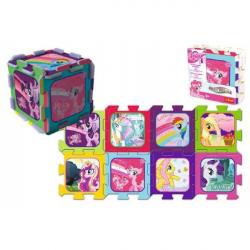 Penové puzzle My Little Pony / Hasbro 32x32x1cm