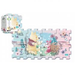 Penové puzzle Medvedík Pú 32 x 32 x 1 cm - 8 ks