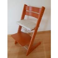 Rosnące krzesełko JITRO KLASIK czereśniowe