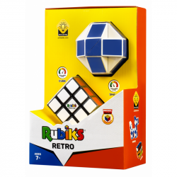 Rubikova kocka sada retro had + kocka 3x3x3