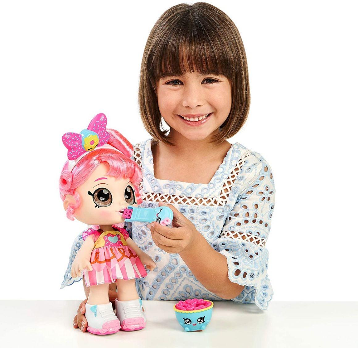 Kindi Kids - Lalka Donatina + Akcesoria na przekąskę