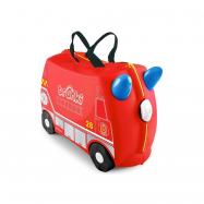 Kufrík + odrážadlo hasičský voz Frankie
