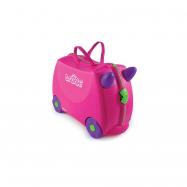 Kufrík + odrážadlo ružová Trixie