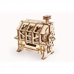 Ugears 3D dřevěné mechanické puzzle Stem Lab Počítadlo Counter