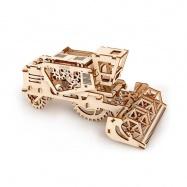 Ugears dřevěná stavebnice 3D mechanické Puzzle - Kombajn