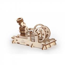 Ugears dřevěná stavebnice 3D mechanické Puzzle - Motor