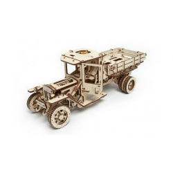 Mechaniczny model drewna Truck i funkcjonalna
