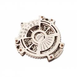 Ugears Dřevěná stavebnice 3D mechanické Puzzle Kalendář