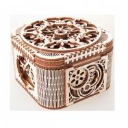 Ugears dřevěná stavebnice 3D mechanické Puzzle - Šperkovnice