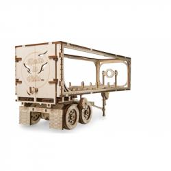 Ugears dřevěná stavebnice 3D mechanické Puzzle - Přívěs Heavy Boy