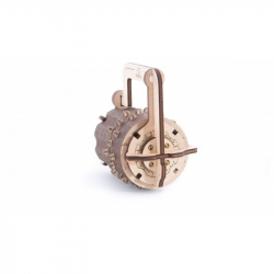 Ugears dřevěná stavebnice 3D mechanické Puzzle - Zámek