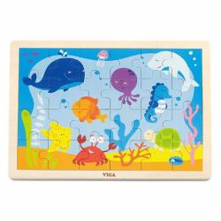 Dětské dřevěné puzzle Oceán