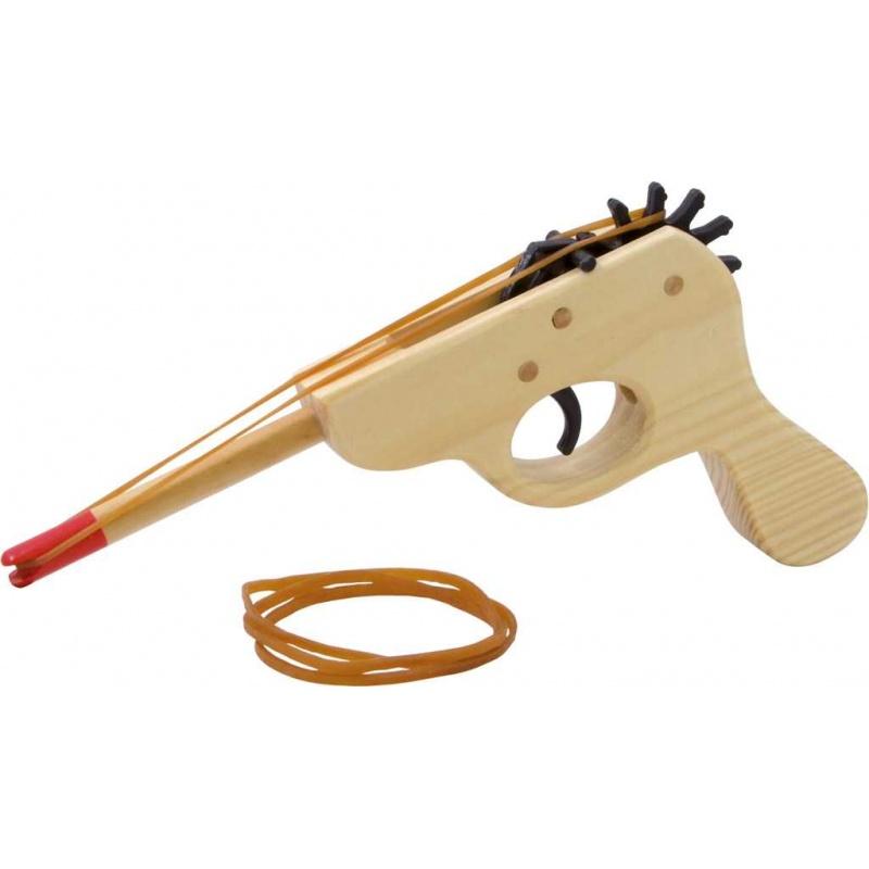 Vilac - Dřevěná pistol na gumu