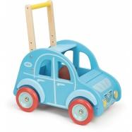 Vilac - Dřevěný vozík autíčko - modré