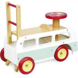 Vilac Drevené odrážadlo minibus 2v1