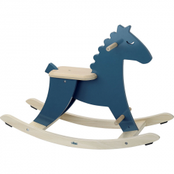 Vilac Rocking Horse Dark Blue