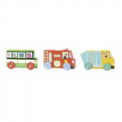 Drevená hračka Vilac - Magnetická nákladné autá