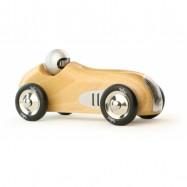 VILAC Drewniane historyczne auto wyścigowe natur