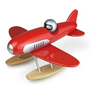 VILAC Drewniany dizajnowy samolot – samolot wodny