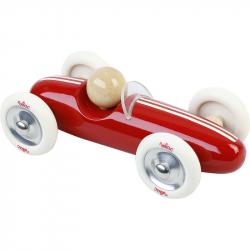 Voiture Grand Prix vintage MM rouge