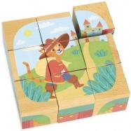 Vilac dřevěné kostky - Příběhy