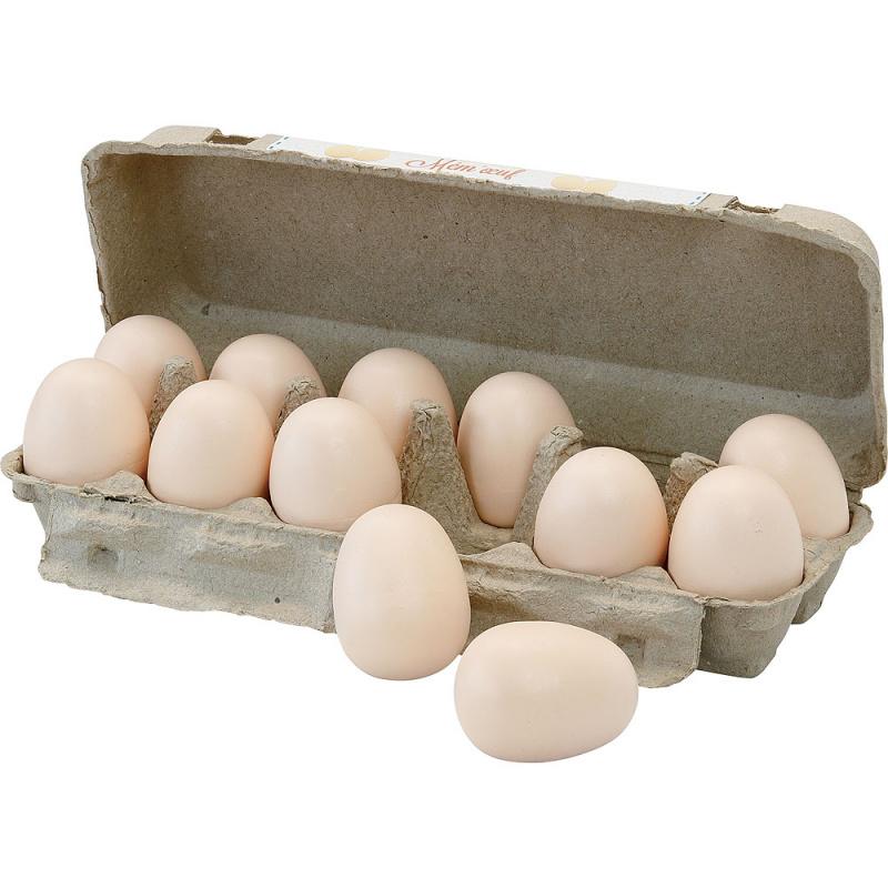 Vilaca Drevené zvukové pexeso vajcia