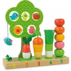 Drevené multifunkčné hračky Vilac - Zahrádka