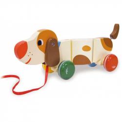 Drevená hračka Vilac - drevený ťahacie psík