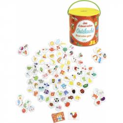 Vilac dětská zábavná hra - Najdi to - Outékaché v kyblíku